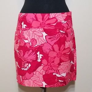 Tommy Hilfiger Tropical Floral Straight Skirt 8
